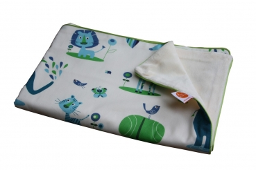 Babydecke mit Namen Juicy Jungle von Millemarille